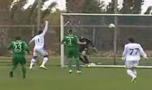 Keeper Delivers Goal Kick Into The Wind, Scores On Own Goal (Video)