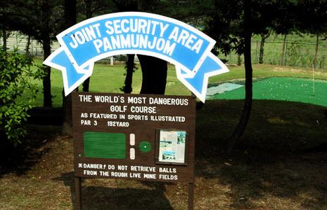 worlds most dangerous golf course