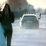 zlatan ibrahimovic hit reporter with car