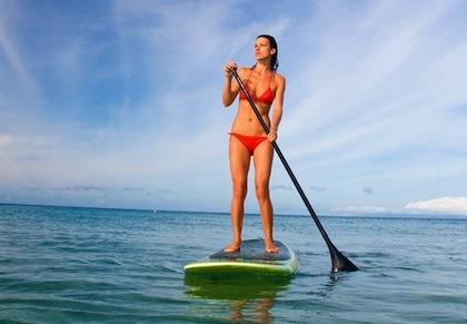 #10 paddleboarding