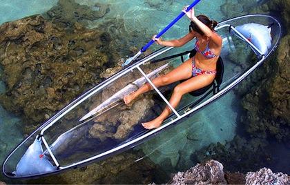 #11 bikini see-through kayak