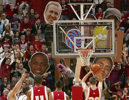 #11 indiana hoosiers free throw distractions
