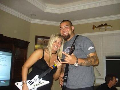 #2 joel Zumaya guitar hero