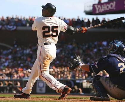 #25 barry bonds