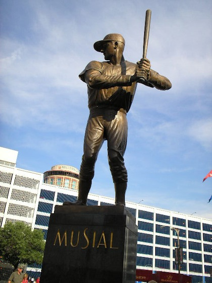 stan musial statue st. louis