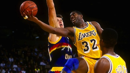#32 magic johnson