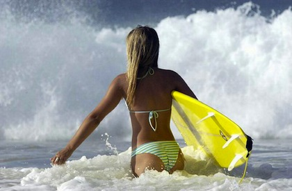 #5 hot surfer chick