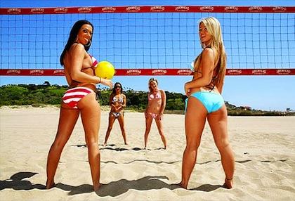 #6 beach volleyball girls