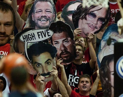 #8 san diego state free throw distraction
