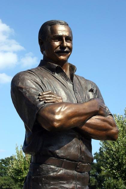 Dale Earnhardt statue (kannapolis nc)
