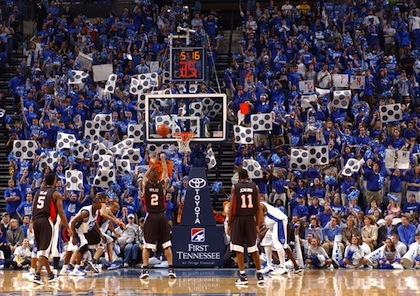 memphis tigers free throw distraction