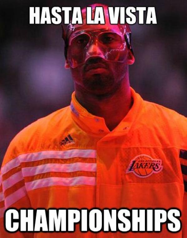 Lakers Kobe Bryant Hilarious Mask Meme Photos   Total Pro ...