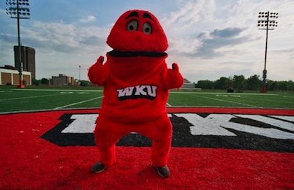 WKU Hilltoppers big red mascot