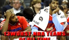 13 Worst NBA Teams of All Time