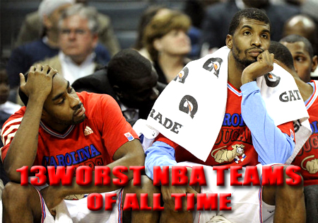 WORST NBA TEAMS OF ALL TIME