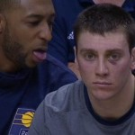 aj price photobomb tyler hansbrough