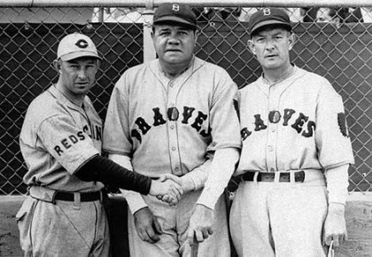 babe ruth boston braves