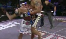 Brian Rogers Delivers Flying Knee Knockout (Video)