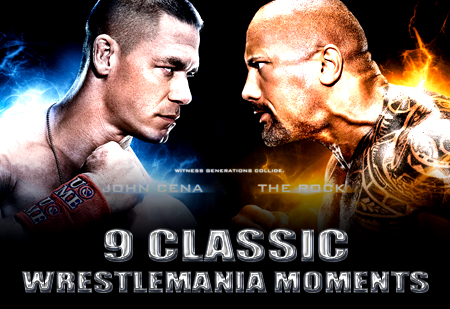classic awesome wrestlemania moments