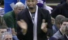 DeMarcus Cousins Takes Over Coaching Duties For The Kings (Video)