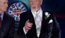 Don Cherry Challenges Leafs' GM Brian Burke To A Fight On HNIC's Coach's Corner (Video)