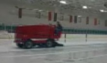 Drunk Zamboni Driver Caught On Tape (Video)