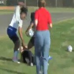 female soccer assault