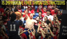 15 Impressive Free Throw Distractions