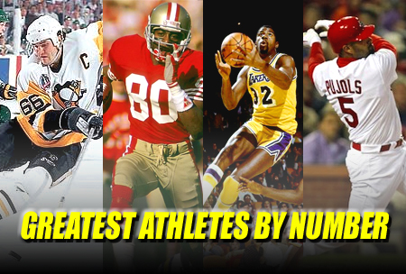 greatest athlete by number