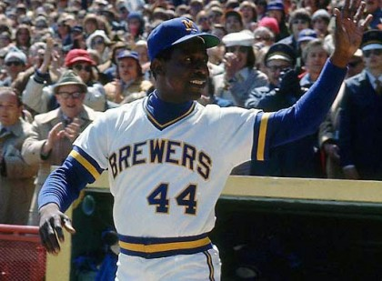 hank aaron milwaukee brewers