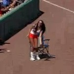hooters ball girl fail