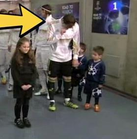 Did Iker Casillas Pick His Nose And Wipe It On A Kid ...