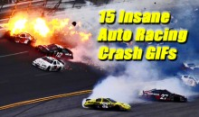 15 Insane Auto Racing Crash GIFs