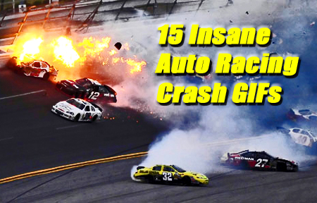 Auto Racing  Gifts on 15 Insane Auto Racing Crash Gifs