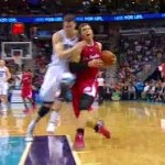 jason smith body check blake griffin