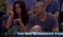 Evan Longoria And Jaime Edmondson Watched Steven Stamkos Score His 50th Goal Last Night (Video)