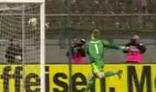 Austria's Marc Janko Scores With His Groin (Video)
