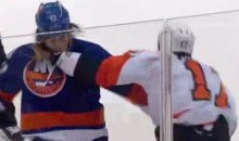 Frozen Fisticuffs Fight Of The Night — Simmonds vs. Martin — 3/15/12