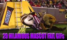 20 Hilarious Mascot Fail Gifs