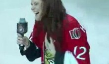 "Senators Fans Bail Out Anthem Singer During ""O Canada"" (Video)"