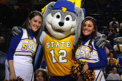south dakota state jackrabbit mascot