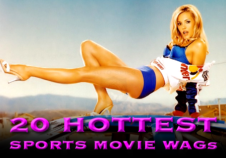 sports movie wags hot chicks
