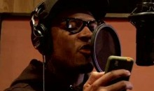 The Game And Stevie Johnson Team Up In The Rap Studio (Video)