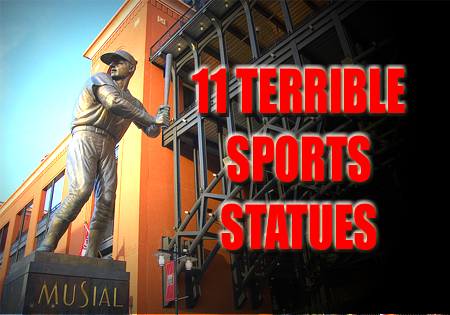 terrible sports statues musial