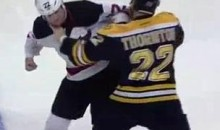 Frozen Fisticuffs Fight Of The Night — Thornton vs. Boulton — 3/1/12