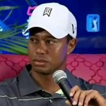 tiger woods angry presser