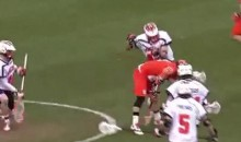 Syracuse Lacrosse Player Scores Through-The-Legs Goal (Video)