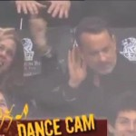 tom hanks la kings dance cam