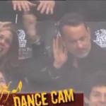 tom hanks la kings dance cam