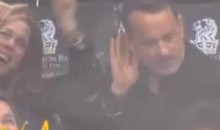 Tom Hanks Caught On The LA Kings' Dance Cam (Video)